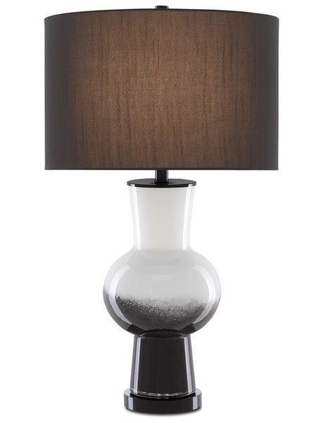 Currey and Company Duende Black Table Lamp 6000-0605