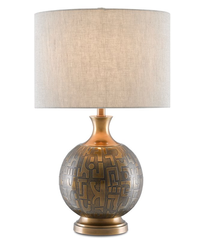 Currey and Company Mizmaze Table Lamp 6000-0629