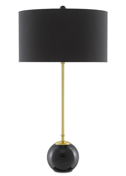 Currey and Company Villette Black Table Lamp 6000-0647