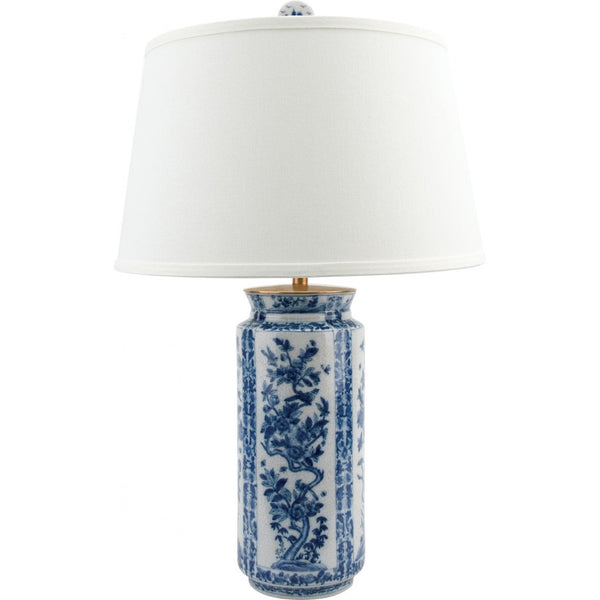 Lovecup Porcelain Table Lamp Blue and White L405