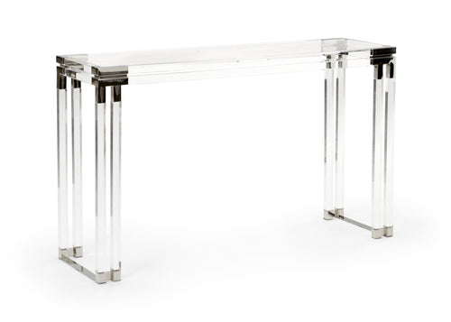 Wildwood Bowen Acrylic Console Table 490409