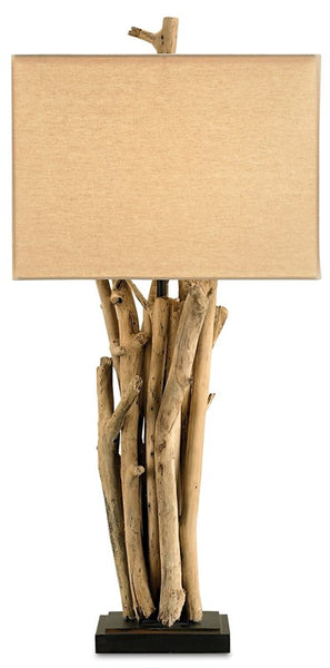Currey and Company Driftwood Table Lamp 6344