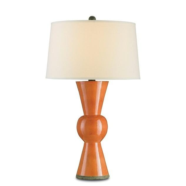 Currey and Company Upbeat Table Lamp, Orange 6351 - LOVECUP
