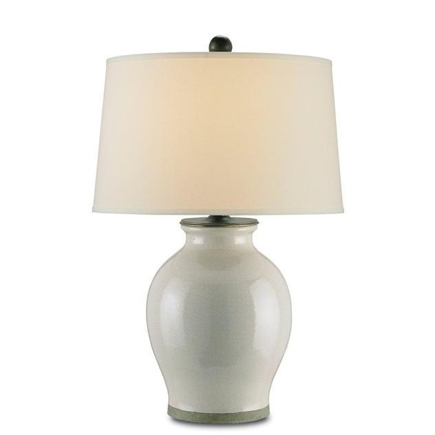 Currey and Company Fittleworth Table Lamp, Feather - LOVECUP