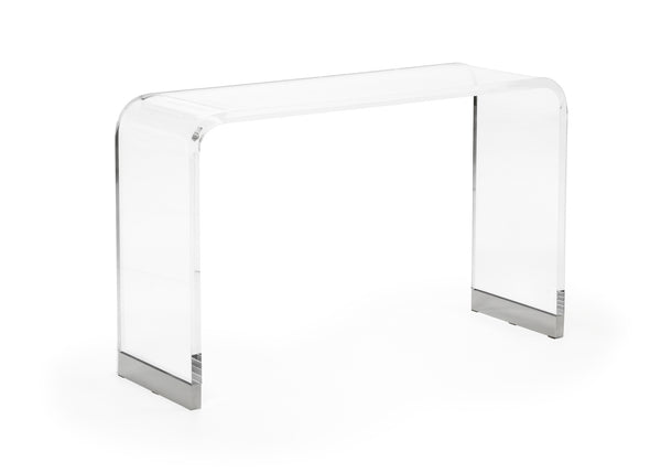 Chelsea House Acrylic Waterfall Console Table 384789