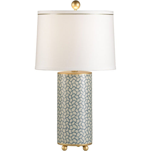 Chelsea House Wavy Lines Gold Table Lamp 68563 - LOVECUP
