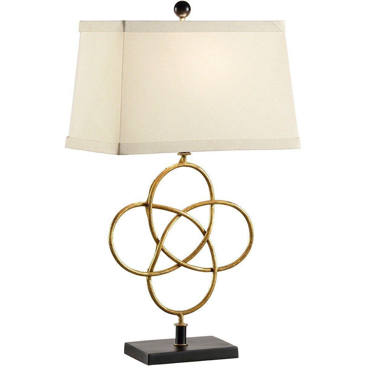 Chelsea House Loose Knot Gold Table Lamp 68589 - LOVECUP