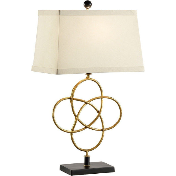 Chelsea House Loose Knot Gold Table Lamp 68589