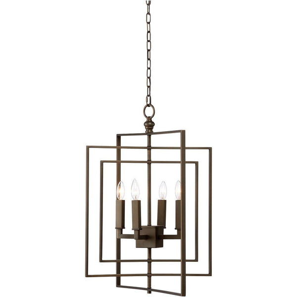 Chelsea House Four Lights Cube Small Chandelier - LOVECUP - 2