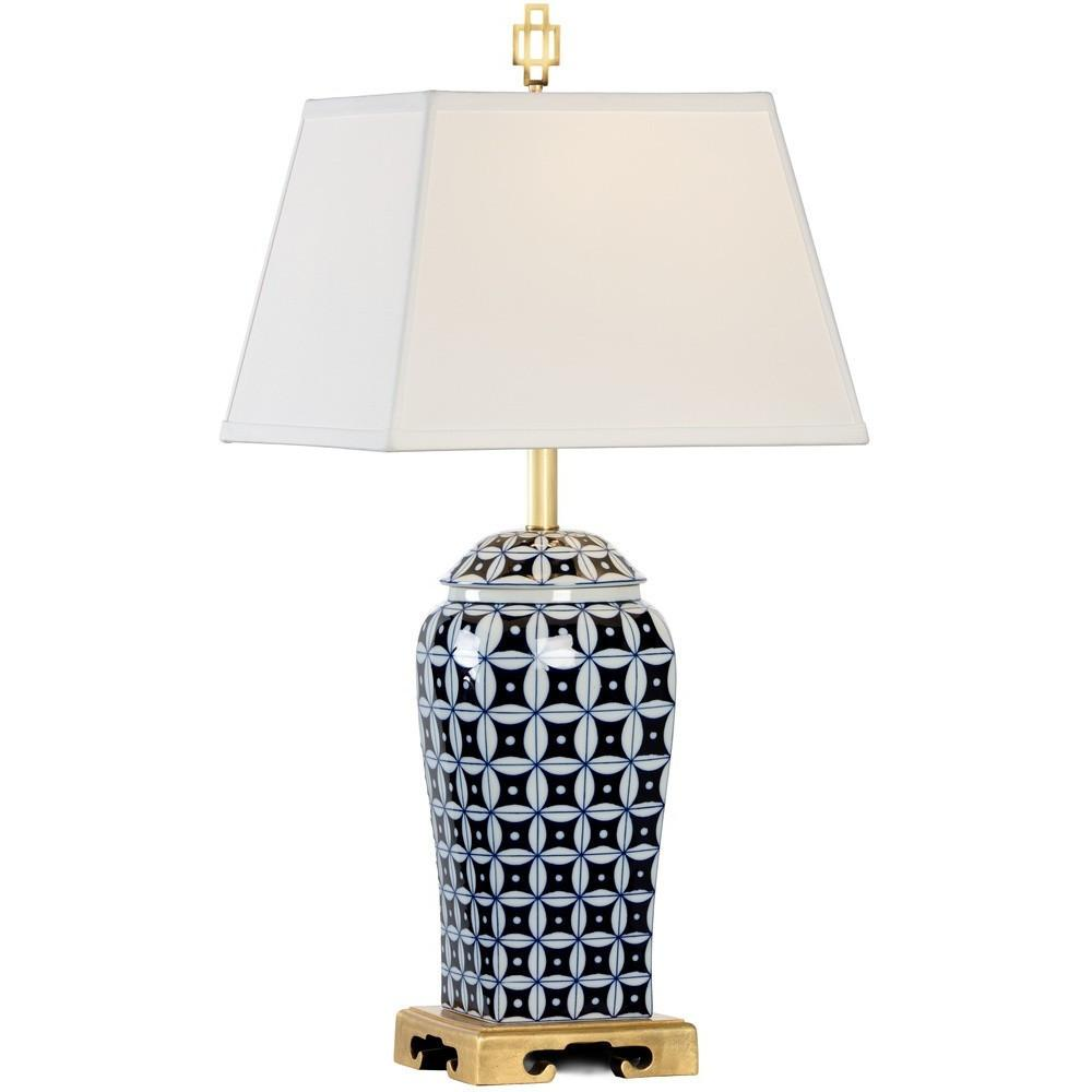 Chelsea House Cain Gold Ceramic Table Lamp 68802 - LOVECUP