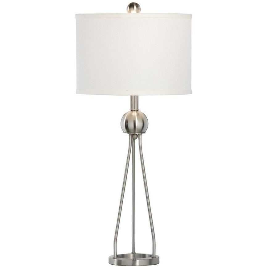 Chelsea House Duncan Nickel Brushed Table Lamp 68876 - LOVECUP