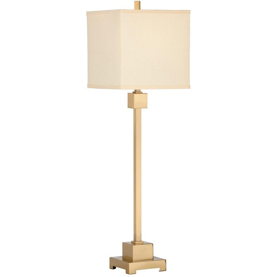 Chelsea House Forest Brushed Brass Buffet Lamp 68888 - LOVECUP