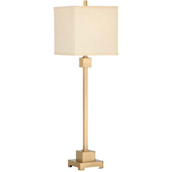 Chelsea House Forest Brushed Brass Buffet Lamp 68888