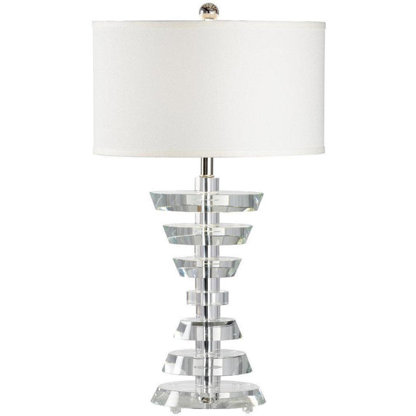 Chelsea House Abbey Polished Nickel Table Lamp 68987