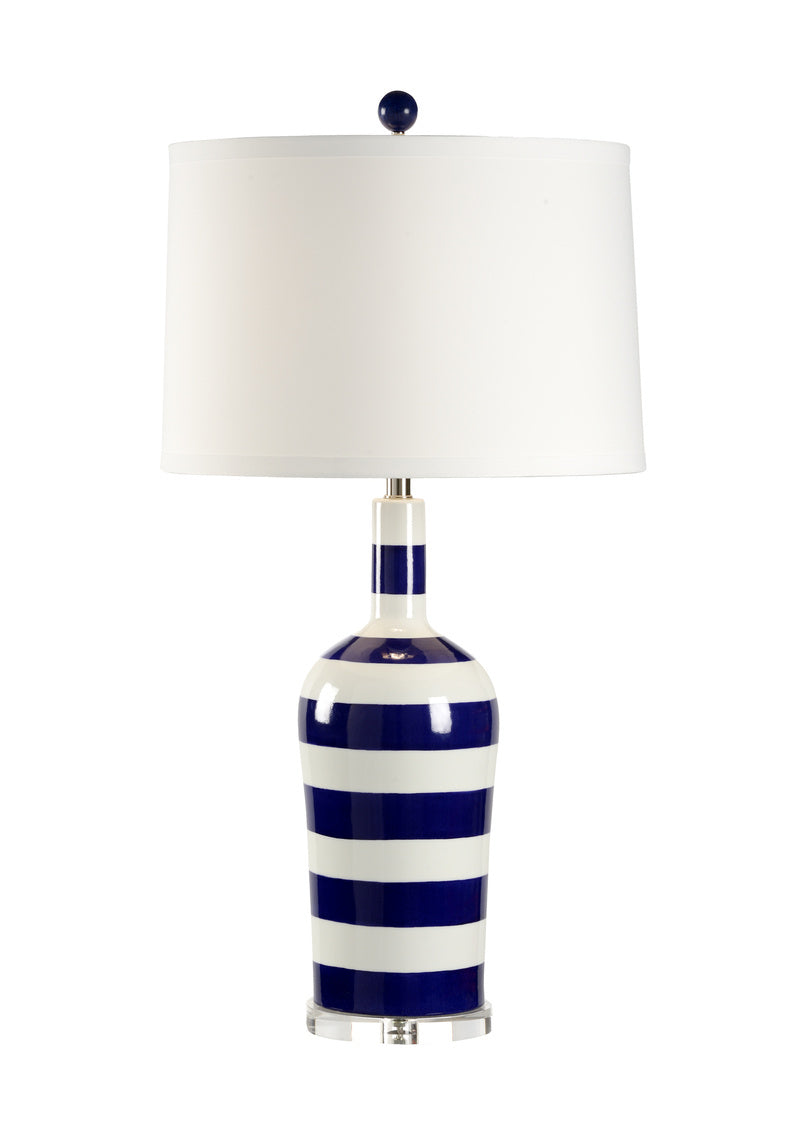 Chelsea House Beach Stripe Table Lamp 68663