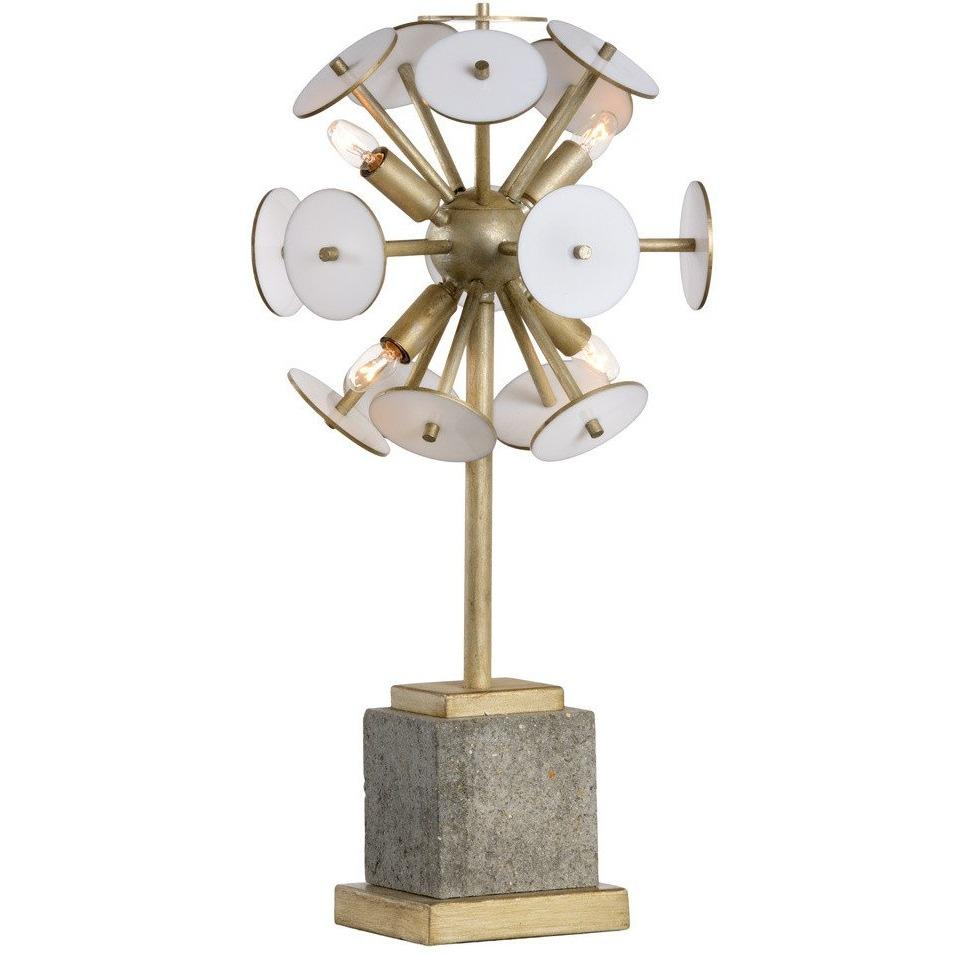 Chelsea House Randell Gold Four-Light Table Lamp 69015 - LOVECUP