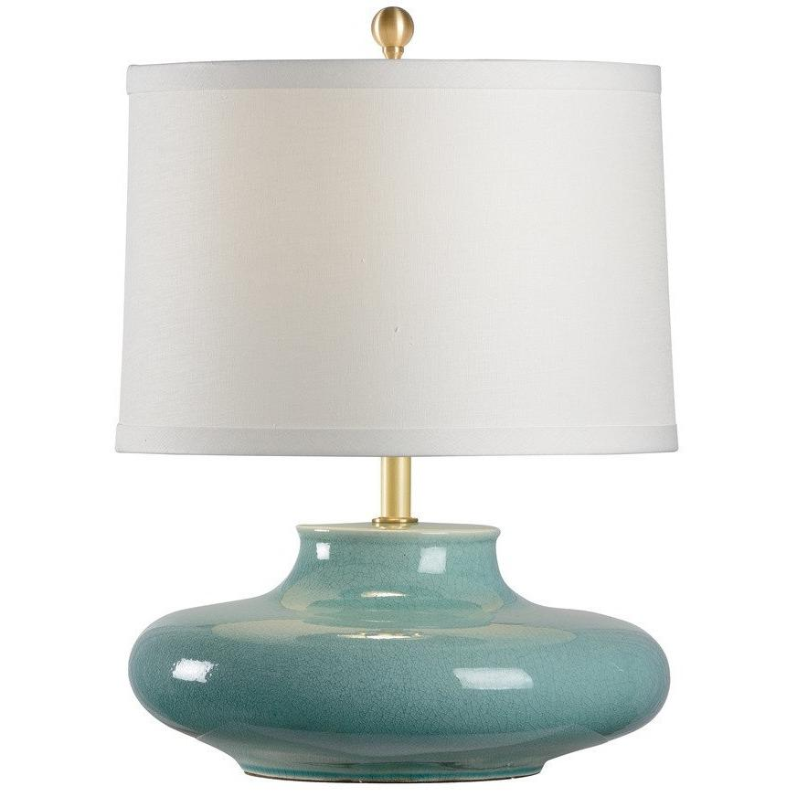Chelsea House Gainsboro Celadon Table Lamp 69046 - LOVECUP