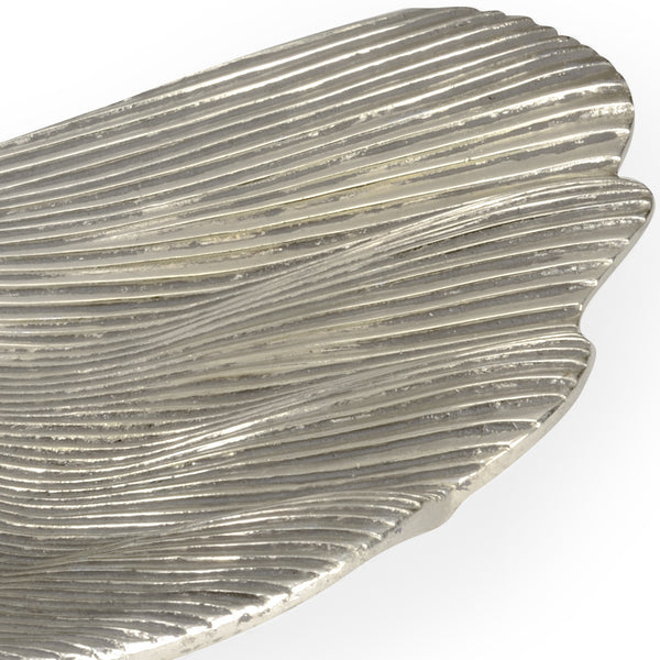 Chelsea House Lotus Leaf Trays - Silver (S3) 382724