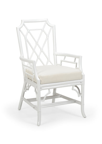 Lovecup White Palm Armchair L445