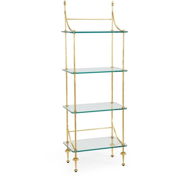 Chelsea House Coleman Etagere - Gold 381993
