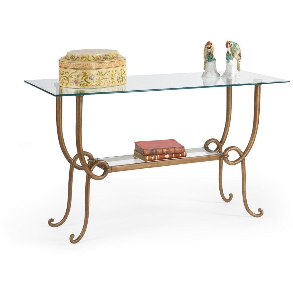 Chelsea House Culpepper Console-Gl 380119 - LOVECUP