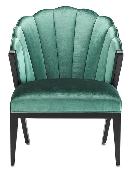 Currey and Company Janelle Viridian Chair 7000-0142