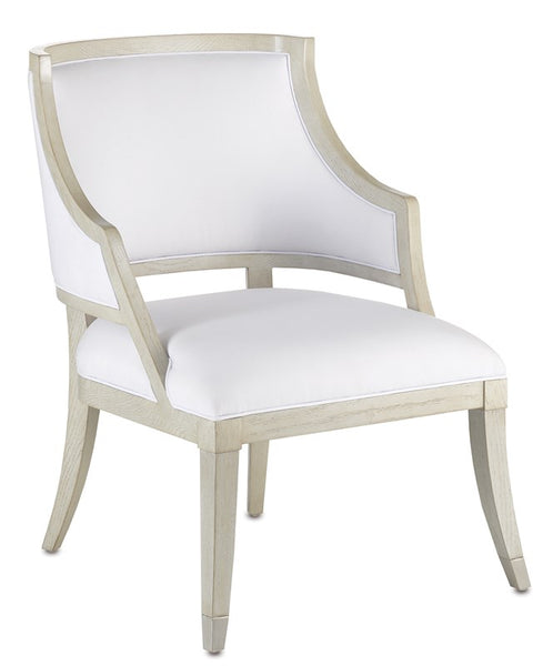 Currey and Company Brandy Muslin Chair 7000-0401