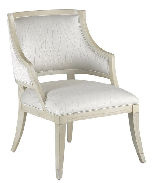 Currey and Company Brandy Platinum Chair 7000-0402