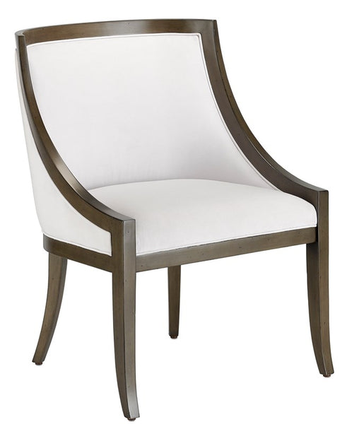 Currey and Company Kirk Muslin Chair 7000-1091