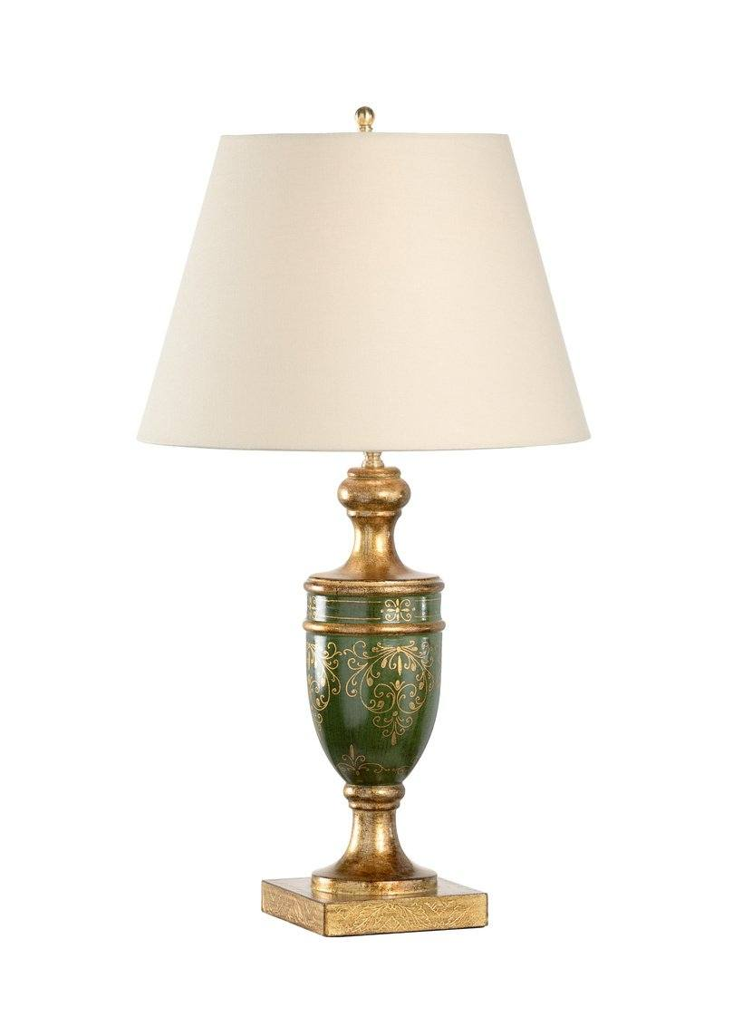 Chelsea House Florence Table Lamp-Green 68718 - LOVECUP