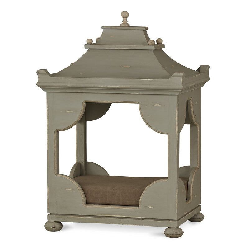 Lovecup Antiqued Chinoiserie Dog Bed Small with Mattress