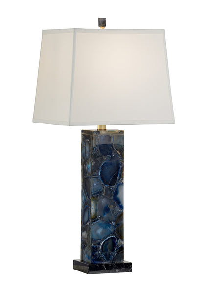 Chelsea House Agate Lamp - Blue 69202