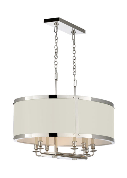 Matthew Frederick High Street Chandelier White 65734C