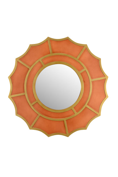 Chelsea House Devonshire Mirror Orange 383484