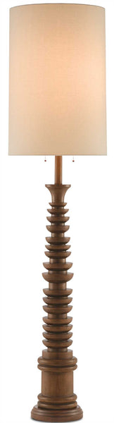 Currey and Company Malayan Floor Lamp 8000-0034