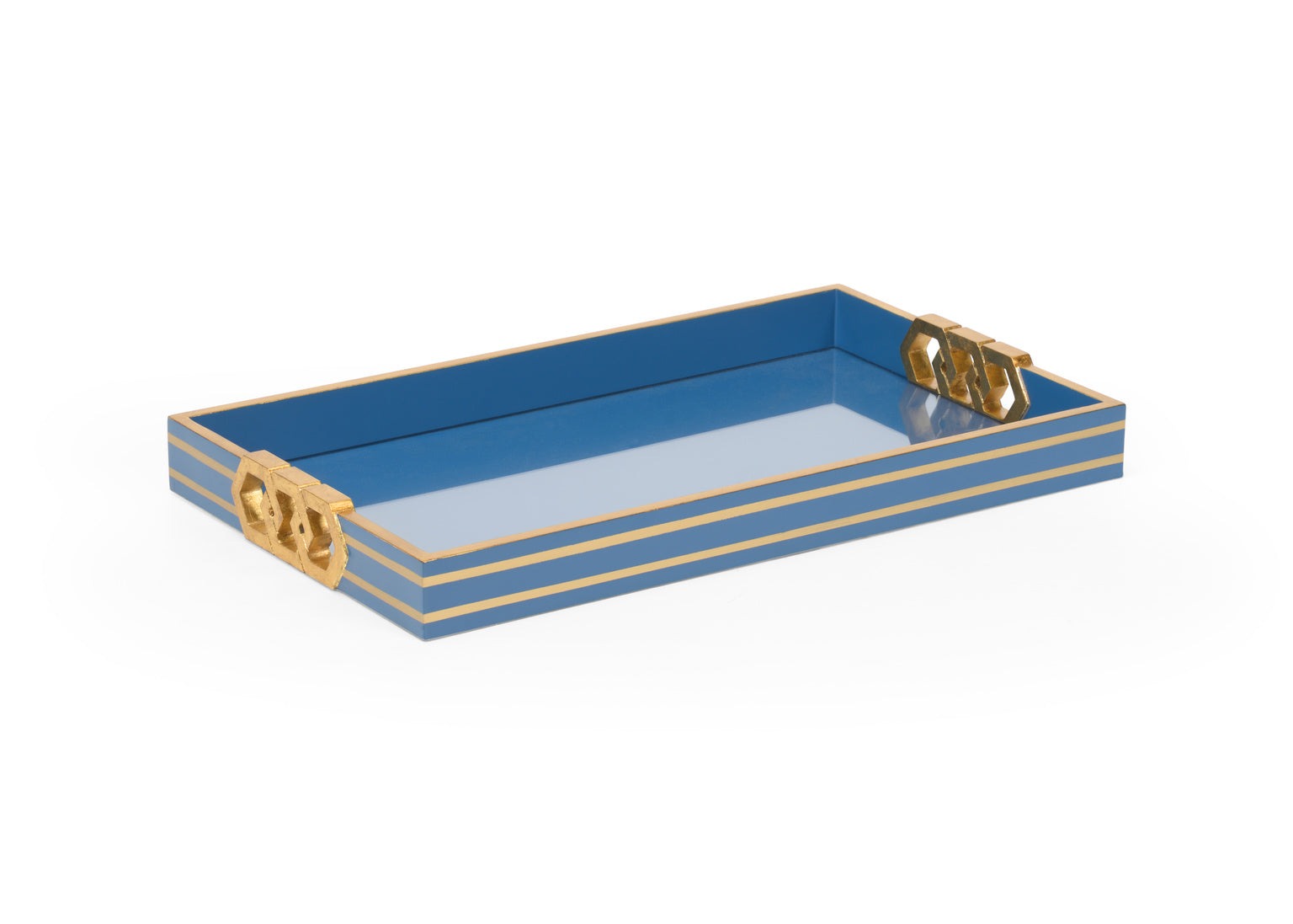 Shayla Copas Serving Tray - Blue 384804
