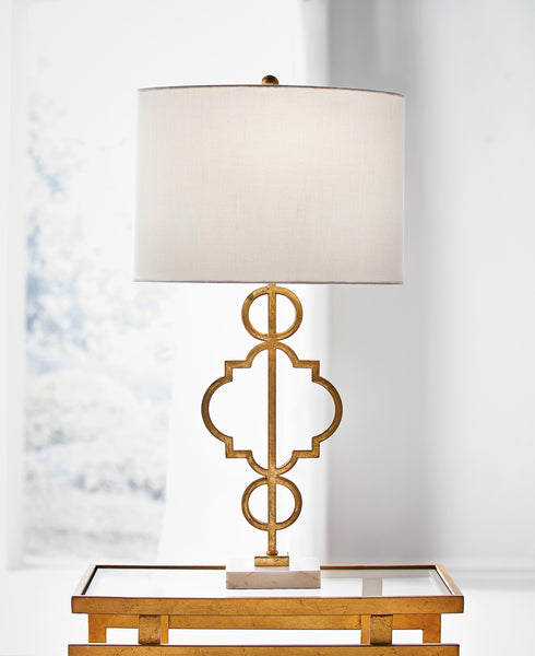Chelsea House Artistic Lamp - Gold 69486