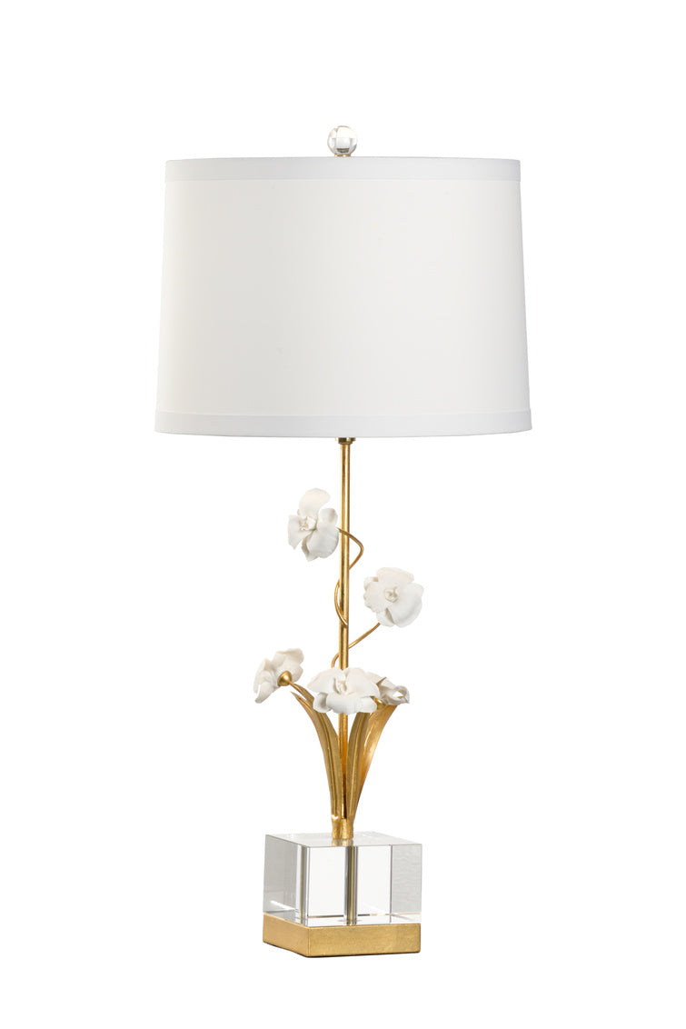 Chelsea House Large Orchid Lamp 69573
