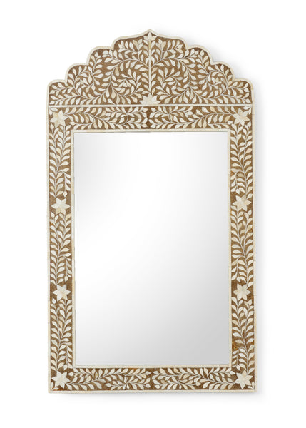 Chelsea House Crown Mirror - Brown 383012