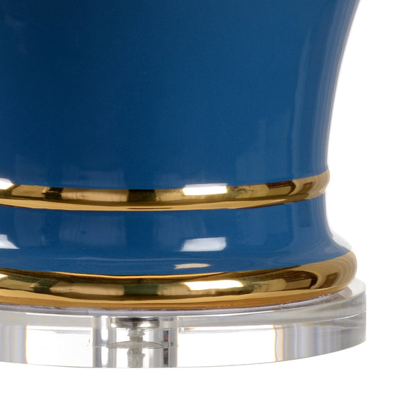 Shayla Copas Designs Audrey Lamp with Acrylic Base - Blue 69775