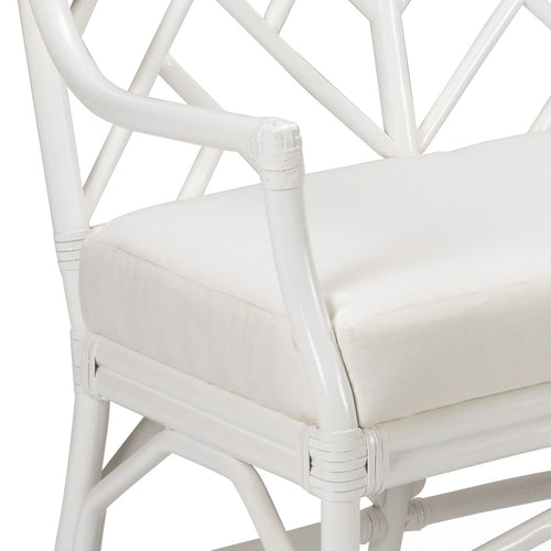 Chelsea House Godwin Bench - White 384978