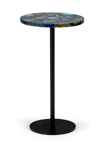 Chelsea House Blue Agate Side Table 383360 ...