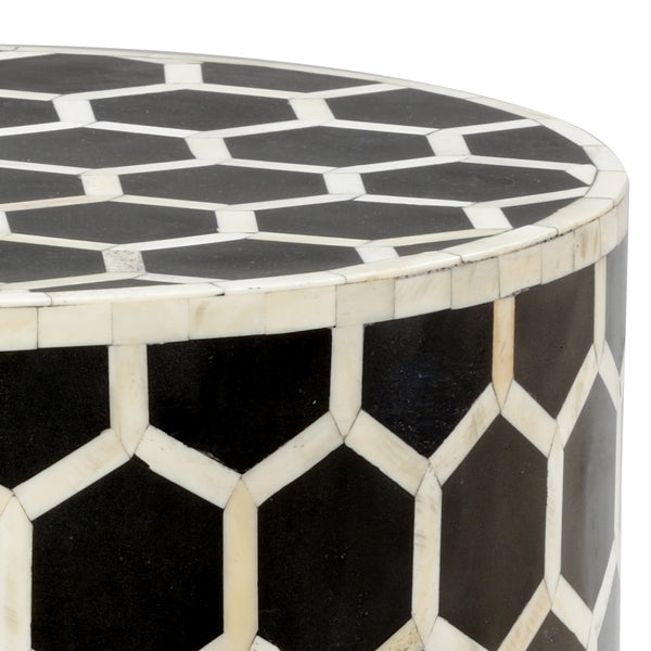 Chelsea House Lincoln Side Table - Black 383015