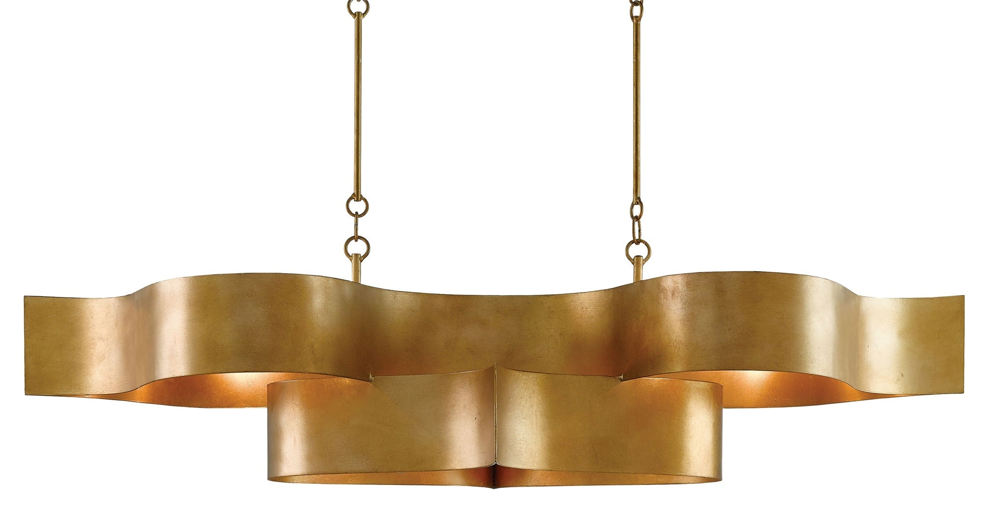 Currey and Company Grand Lotus Oval Chandelier 9000-0046