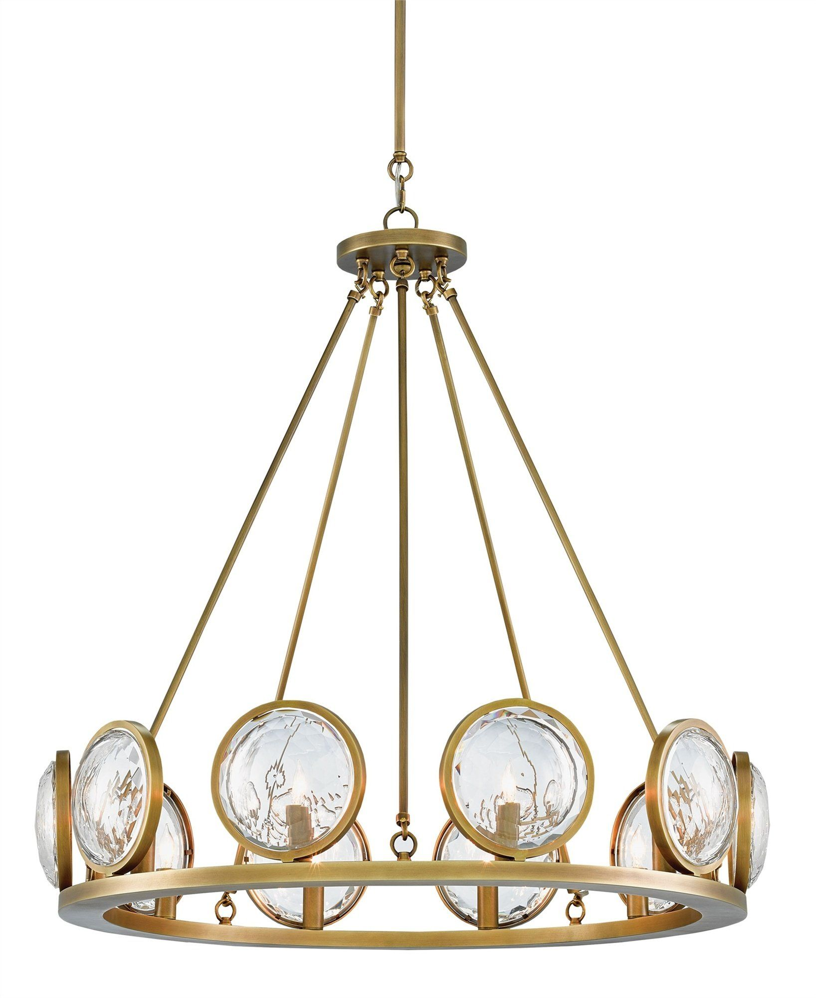 Currey and Company Marjiescope Chandelier 9000-0119 - LOVECUP