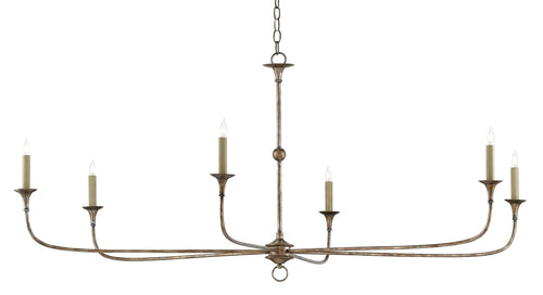 Currey and Company Nottaway Chandelier 9000-0135 - LOVECUP