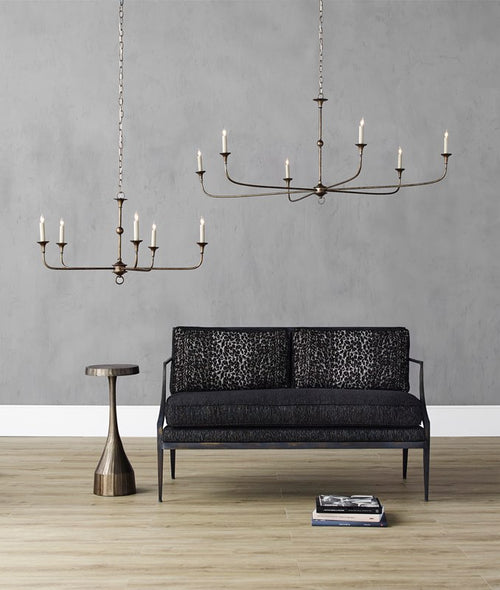 Currey and Company Nottaway Bronze Large Chandelier 9000-0135