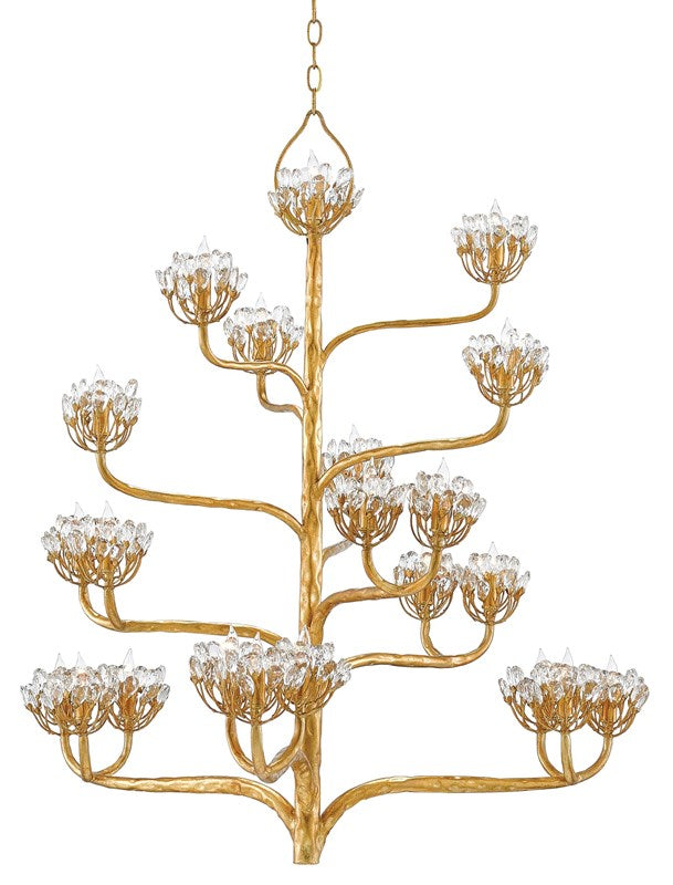 Currey and Company Agave Americana Chandelier 9000-0157