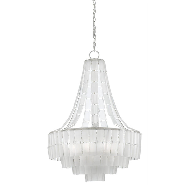Currey and Company Vintner Blanc Chandelier 9000-0159