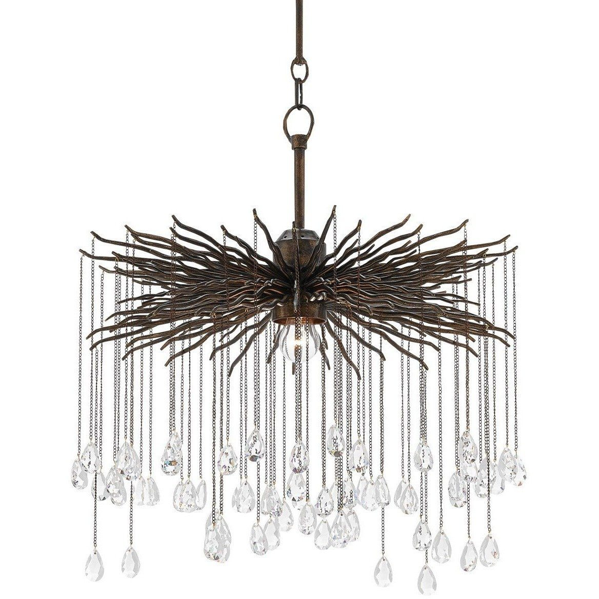 Currey and Company Fen Chandelier, Small 9000-0198 - LOVECUP